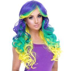Mardi Gras Hair stylin!