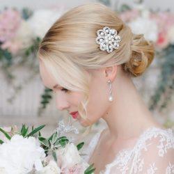 Vintage bridal look…….