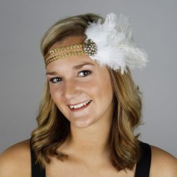 New feather headbands in stock…