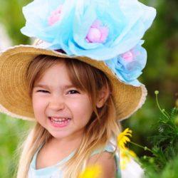 Children's Easter fascinators….