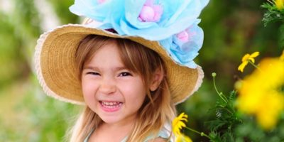 Children's Easter fascinators….