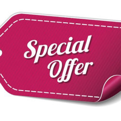 Special offer….